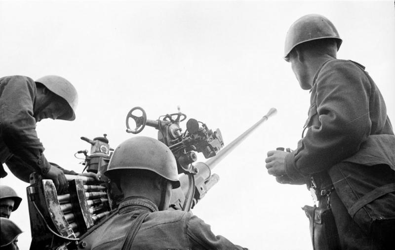 37-мм автоматическая зенитная пушка 61-к образца 1939 года - фото 7